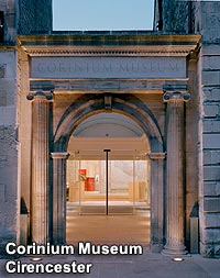 A view of the exterior of The Corinium Museum in Cirencester
