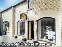 Cotswold Cricket Museum, Stow on the Wold