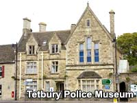 A view of the exterior of Tetbury Police Museum